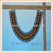 New arrival neck collar design ,elegant neck piece for women's dresses