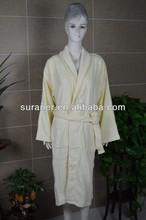 2013 hot sale 100%cotton coral fleece bathrobe