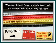 3mm 6mm Cute Corrugated Plastic Board/Corflute Board ---- 4x8 White Board