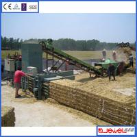Automatic Hay Straw Compress Banding Machine