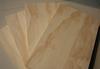 Radiata pine veneered plywood