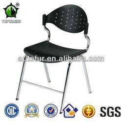 Most favorite pu chair chromed legs