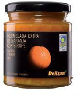 Spanish Bio Orange Jam with Agave Syrup