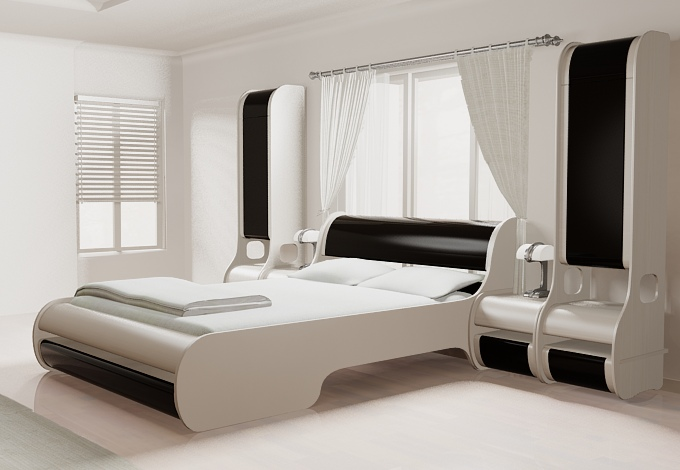 New design bed modern bedroom set 2014 detalion for New bed designs images