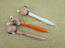 wooden wholesale ball pen custom animal ball pen