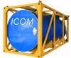 20 feet tank for hot asphalt container for loading, transport and heating asphalt, Emulsion bituminous. heat preservation