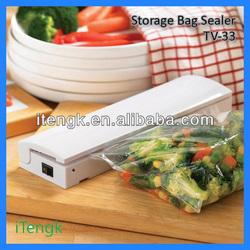 2013 NEW RESEAL & SAVE CORDLESS PLASTIC FOOD SAVER STORAGE BAG SEALER AS SEEN ON TV