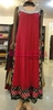 Red and Black stylish Indian/ Pakistani party wear dress frock style