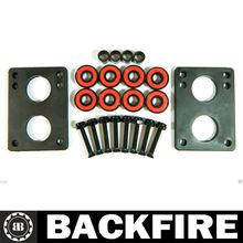 Backfire Ring Titanium Skateboard Bearings 1 Pack of 8 pc! Professional Leading Manufacturer