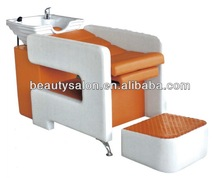 Orange cheaper shampoo chair ZY-SC185