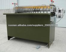 rubber sheet slitting cutting machine
