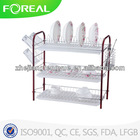 Fashion hot sale 3 tiers dish display rack 2013