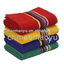 cotton towel cotton hand face towel colorful sport towel 050005