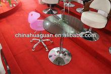 height adjustable swivel lounge bar table