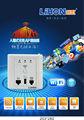 Haute vitesse 150 2mbps dans le mur routeur sans fil pour les chambres d'hôtel, hôtel wifi ap, filembedded metope routeur sans fil