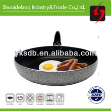Non-stick aluminum wok round bottom