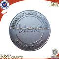 Petillant argent metal casting die emblème.& badge.