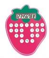 i bambini amano calcolatore di prezzo a forma di fragola