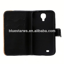 PU leather case for samsung galaxy s4 mini i9190 Luxury PU Leather For Samsung Galaxy S4 Case With Stand
