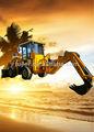 4102 motor tipo de mineração hidráulica retroescavadeira