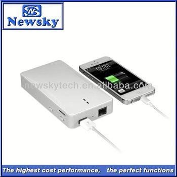 Mini Power bank SIM Card wifi wireless-n wifi repeater 802.11n network router