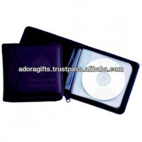 ADACD - 0033 dvd case handmade leather / unique cd cases with good quality & best price / cd storage bag with multifunctions