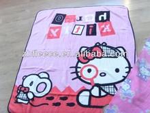 coral fleece baby blanket
