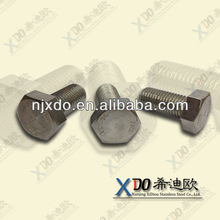 AL6XN NO8367 m38 wheel hub bolt nut