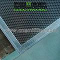 450x450mm, emi filtro in acciaio a nido d'ape per la schermatura camera con schermatura emc strutturali a nido d'ape schermatura camera
