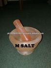 Himalayan Rock Salt Mortar And Pestle