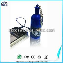 Drinking bottle speaker