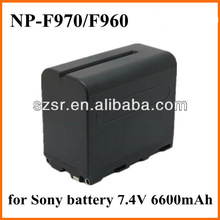 For Sony camera led video light battery pack NP-F970