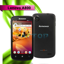 Original Lenovo A800 LePhone Music phone packed with 4.5 inch screen and dual core processor