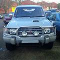 Mitsubishi pajero 1994 exceder 2.8l diesel automática
