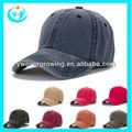 los colores brillantes llano personalizado gorras de béisbol de venta al por mayor