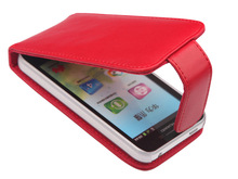 cell phone protector leather phone flip case for huawei U8860