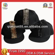 Adult and children adjustable flat brim two snapback closure cap