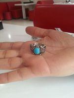Natural Turquoise Ring - Pure Arizona