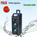Reproductor de mp3 recargable con construido en el altavoz de china fabricante apto para américa venta caliente sistema de altavoces con pantalla lcd/dvd/luz