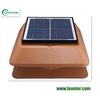 solar power rechageable mini solar roof fan as attic fan