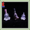 50ml fancy clear crystal empty glass perfume bottle with pump sprayer and cap