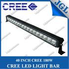 "40"" china led light bar,waterproof 180w cree led offroad driving light bar,single row headlight for truck jeep boat"