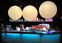 inflatable hanging lighting balloon
