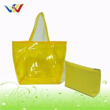 PVC Bag Fashion Tote Bag Yellow