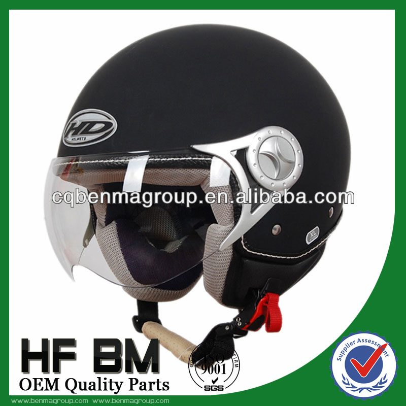 ECE Motorcycle Helmets Black Color, Good Performance Helmet for Motorcycle, Best Motorcycle Half Helmet Wholesale!!