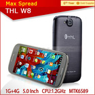 THL W8 5 Inch Android 4.2 Phone MTK6589 Quad Core 3g dual sim android mobile phone