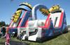 0.55mm pvc tarpauling kids fun city inflatable playground