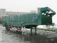 30 ton cargo box trailer, plastic box trailer, insulated cargo trailer
