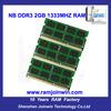 New OEM laptop rams memory 2gb ddr3 sd ram memory