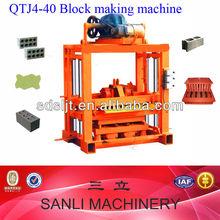 2013 New type semi-automatic concrete block making machine, india